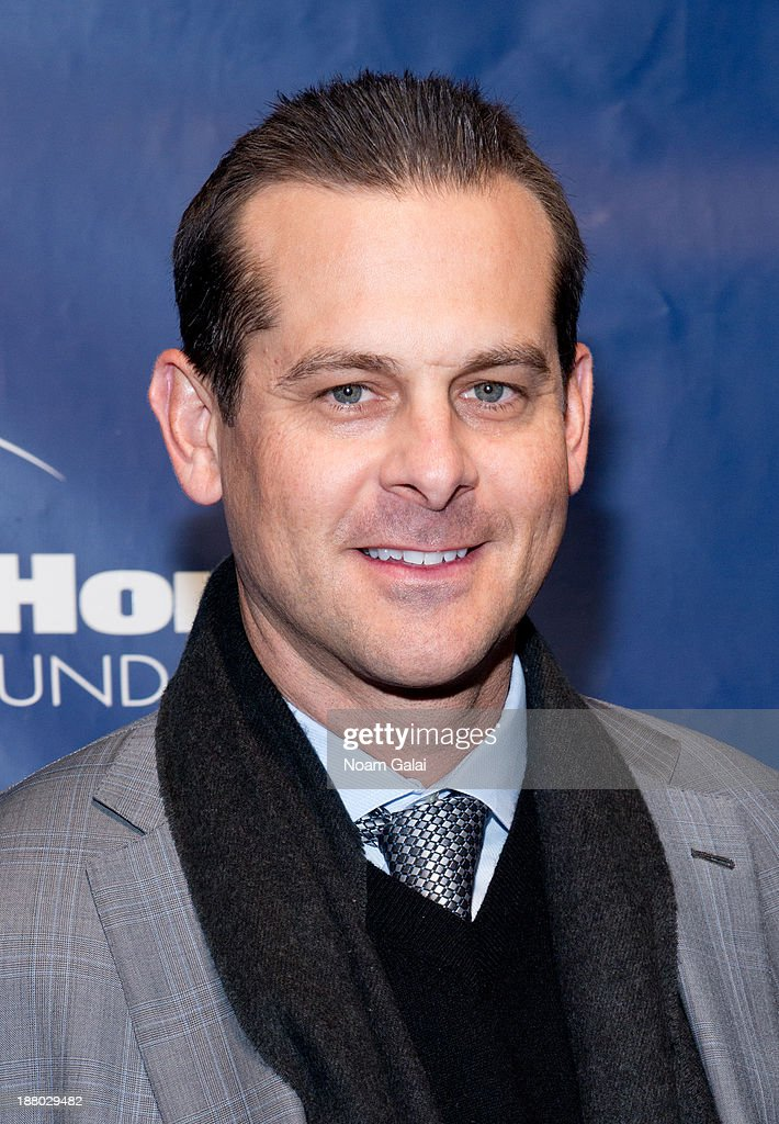 Aaron Boone attends the 11th Anniversary Joe Torre Safe At Home Foundation Gala at Pier Sixty at Chelsea Piers on November 14, 2013 in New York City.