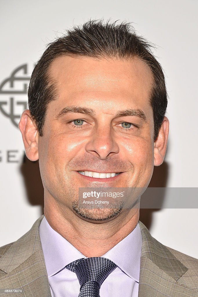 Aaron Boone attends the 15th annual Harold & Carole Pump Foundation gala at the Hyatt Regency Century Plaza on August 7, 2015 in Los Angeles, California.