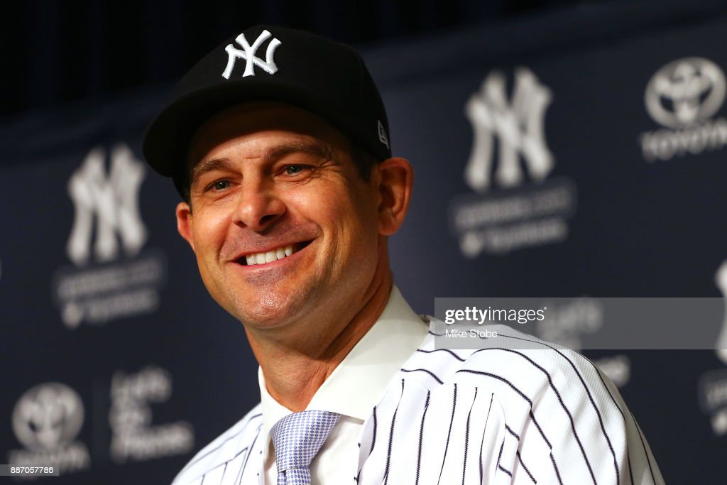 New York Yankees Introduce Aaron Boone