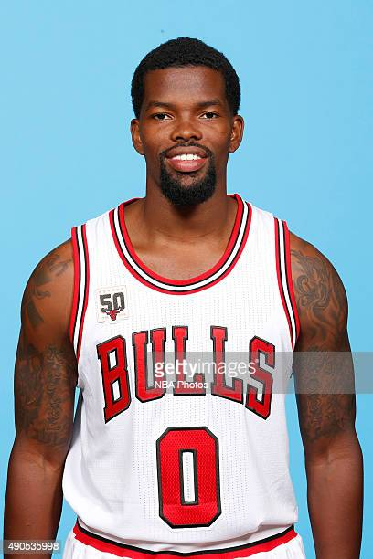 Aaron Brooks of the Chicago Bulls poses for a portrait during Media Day on September 28 2015 at the Advocate Center in Chicago Illinois NOTE TO USER...