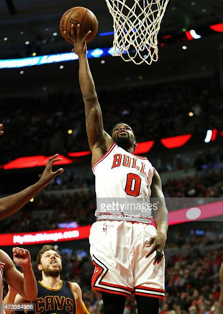 Aaron Brooks of the Chicago Bulls shoots against the Cleveland Cavaliers in the fourth quarter during Game Six of the Eastern Conference Semifinals...