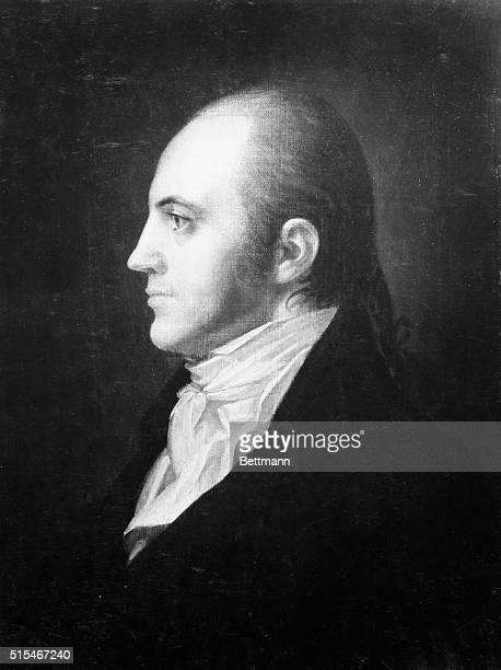 Aaron Burr American political leader