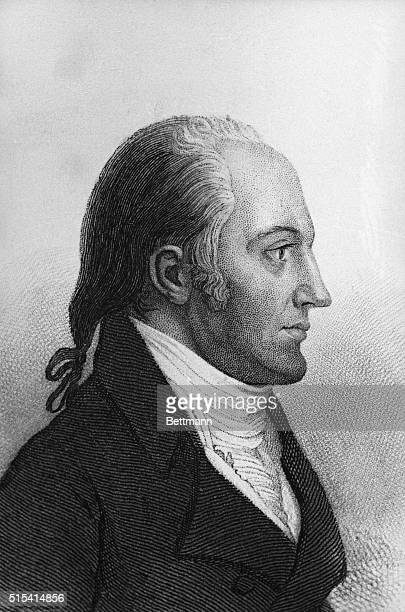 Aaron Burr American statesman Vice President under Jefferson In 1804 he fought a duel with Hamilton in which the latter was killed