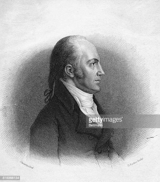 Aaron Burr Vice President of the United States who killed Alexander Hamilton in a duel