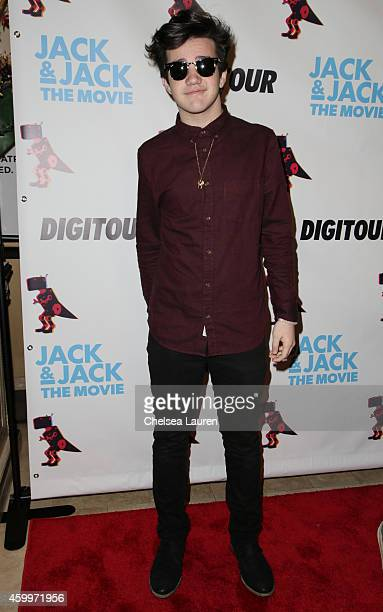 Aaron Carpenter arrives at DigiTour presents 'Jack Jack The Movie' Los Angeles premiere at Pacific Theatre at The Grove on December 4 2014 in Los...