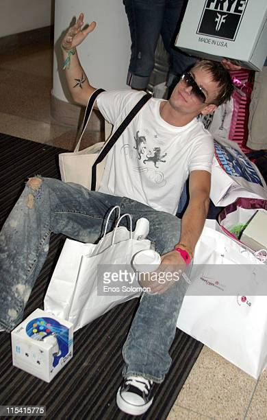Aaron Carter during 2005 MTV Video Music Awards StyleVilla At The Sagamore Hotel at The Sagamore Hotel in Miami Beach Florida United States