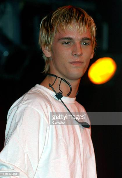 Aaron Carter during Aaron Carter Live In Concert February 29 2005 at BB Kings in New York City New York United States