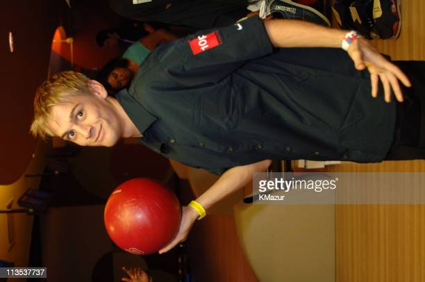Aaron Carter during *NSYNC's Challenge for the Children VII Celebrity Bowling at 10pin in Chicago Illinois United States
