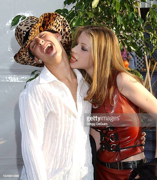 Aaron Carter Michelle Trachtenberg during The 9th Annual 'Dream Halloween Los Angeles' Benefits The Children Affected By AIDS Foundation at Barker...