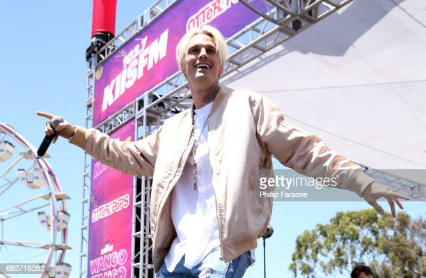 Aaron Carter performs onstage at the Village during 1027 KIIS FM's 2017 Wango Tango at StubHub Center on May 13 2017 in Carson California