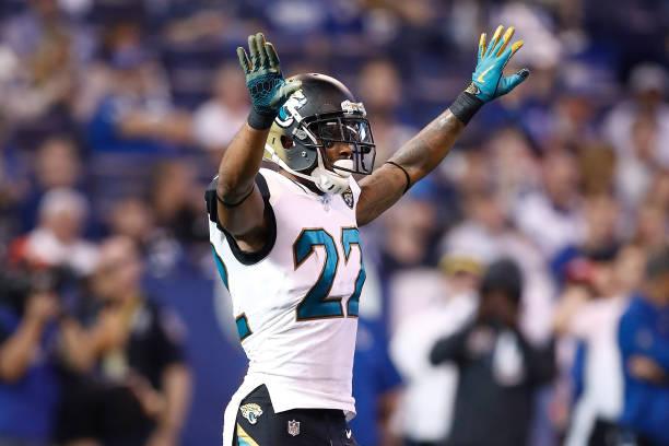 4bcb56983 ... Aaron Colvin Black Team Color NFL Nike Elite Mens Jersey Jacksonville  Jaguars v Indianapolis Colts ...