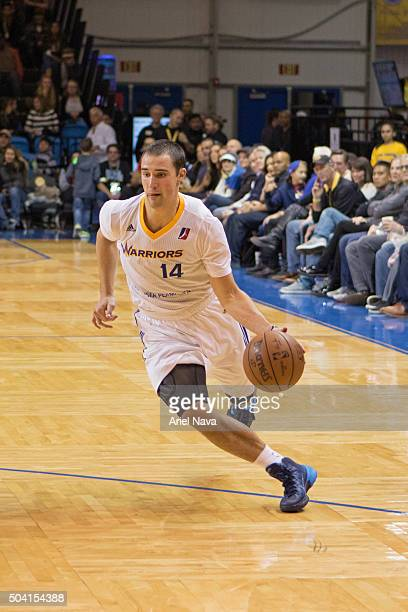 Aaron Craft of the Santa Cruz Warriors drives to the basket against the Iowa Energy during the 2016 NBA DLeague Showcase on January 8 2016 at Kaiser...