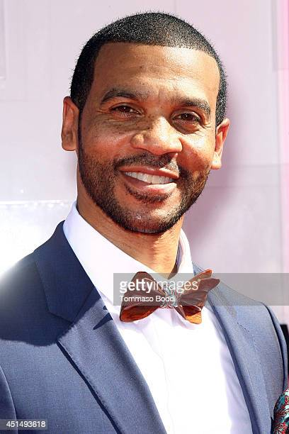 Aaron D Spears attends the 'BET AWARDS' 14 held at Nokia Theatre LA Live on June 29 2014 in Los Angeles California