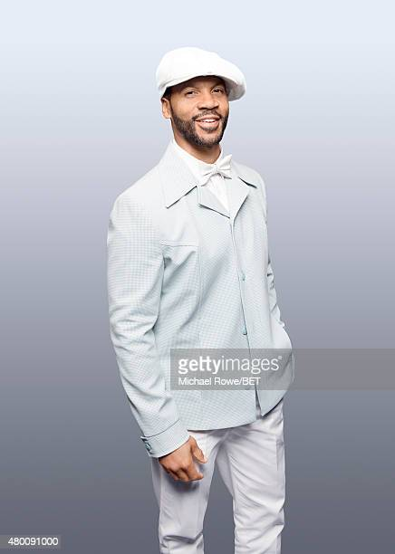 Aaron D Spears poses for a portrait at the 2015 BET Awards on June 28 2015 at the Microsoft Theater in Los Angeles California