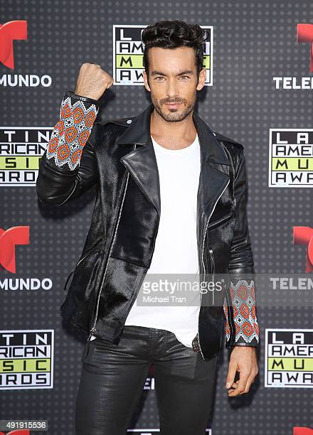 Aaron Diaz arrives at the Latin American Music Awards 2015 held at Dolby Theatre on October 8 2015 in Hollywood California