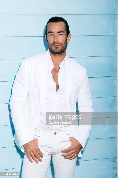 Aaron Diaz poses for a portrait session during the 2017 Ischia Global Film Music Fest on July 13 2017 in Ischia Italy