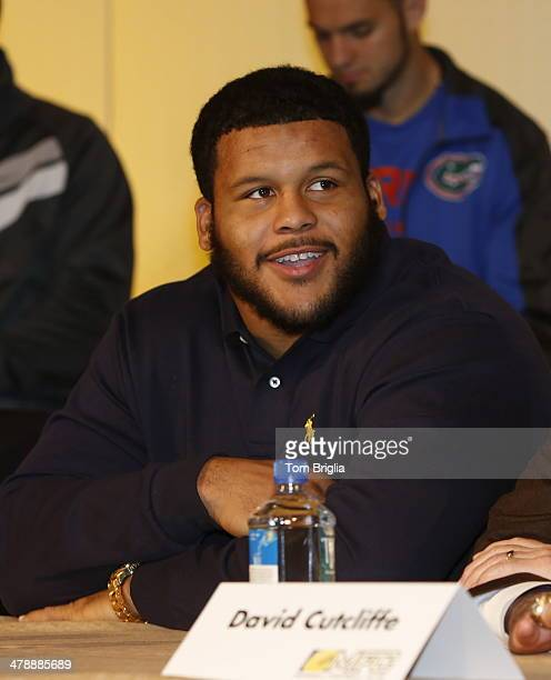 Aaron Donald attends the 77th annual Maxwell Awards at Revel Casino on Friday March 14 2014 in Atlantic City New Jersey