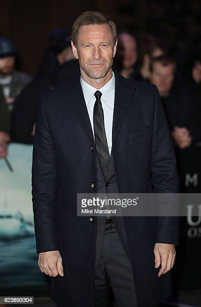 Aaron Eckhart attends the special screening of 'Sully' at BFI IMAX on November 17 2016 in London United Kingdom