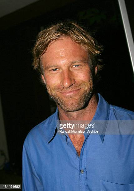 Aaron Eckhart during 2002 IFP/West Los Angeles Film Festival Opening Night AfterParty at The Sunset Room in Hollywood California United States