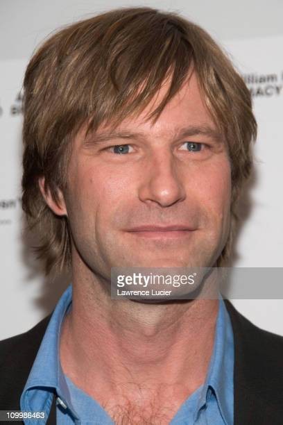 Aaron Eckhart during Thank You For Smoking New York Premiere Inside Arrivals March 12 2006 at Museum of Modern Art in New York City NY United States