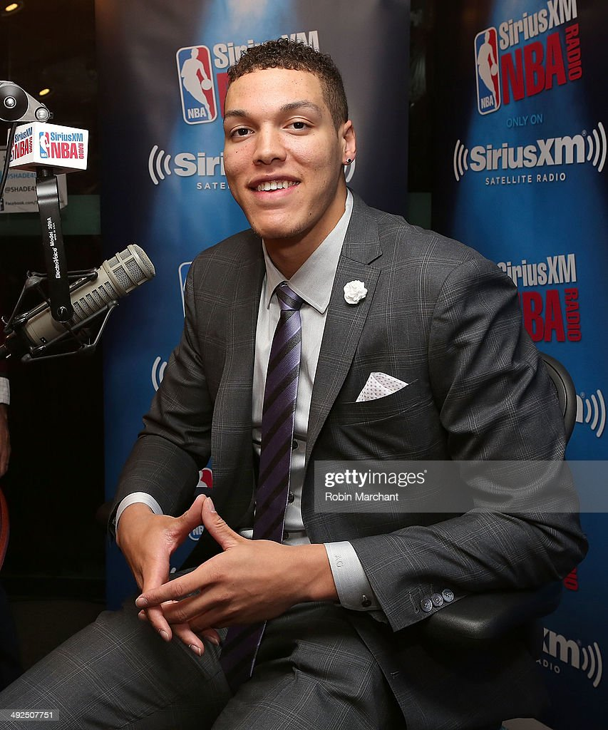 Aaron Gordon visits at SiriusXM Studios on May 20, 2014 in New York City.