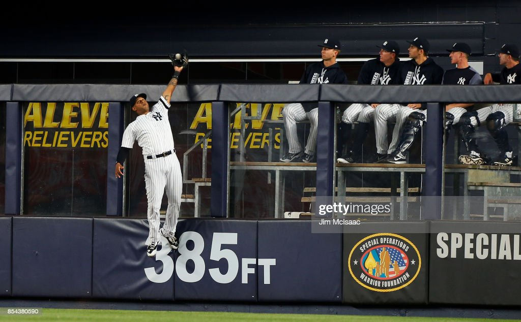 Image result for Aaron Hicks robbing