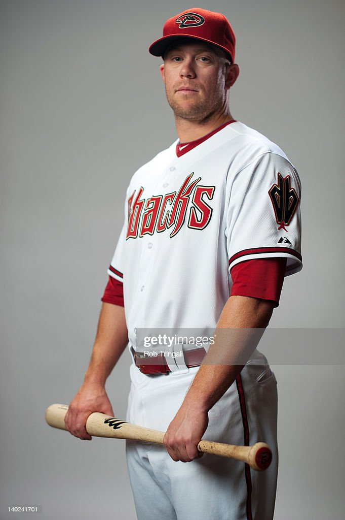 Aaron Hill #2 of the Arizona Diamondbacks poses during photo day at Salt River Fields at Talking Stick on March 1, 2012 in Scottsdale, Arizona.