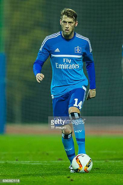 Aaron Hunt of Hamburger SV in action during the Friendly Match between Hamburger SV and Ajax Amsterdam at Gloria Sports Center on January 09 in Belek...