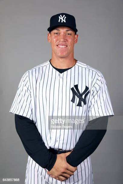 Aaron Judge of the New York Yankees poses during Photo Day on Tuesday February 21 2017 at George M Steinbrenner Field in Tampa Florida