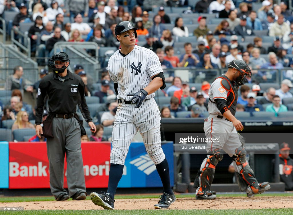 Image result for aaron judge striking out