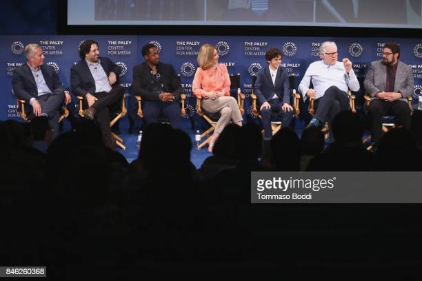 Aaron Kaplan Dan Kopelman Jaleel White Sharon Lawrence Jack Dylan Grazer and Bobby Moynihan attend the The Paley Center For Media's 11th Annual...