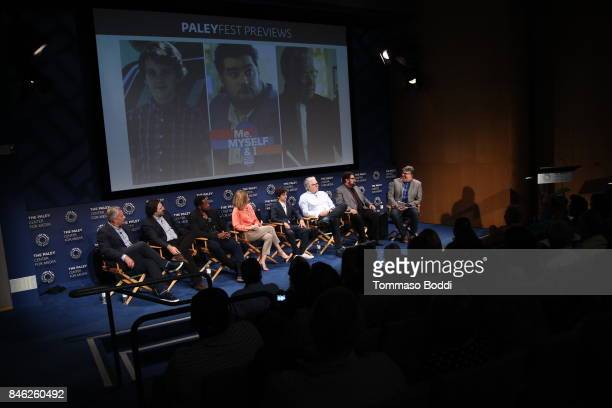 Aaron Kaplan Dan Kopelman Jaleel White Sharon Lawrence Jack Dylan Grazer Bobby Moynihan and Jim Halterman attend the The Paley Center For Media's...
