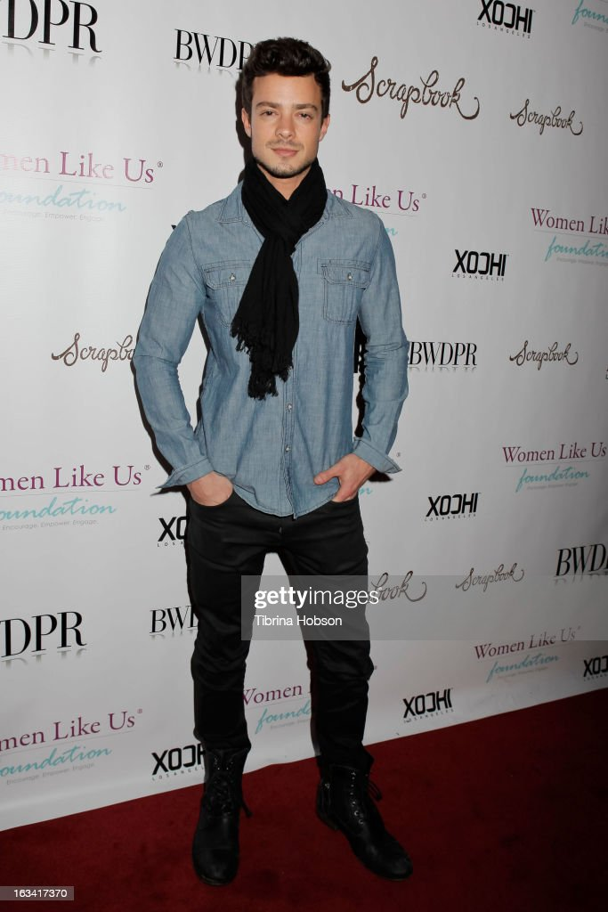 Aaron Lee attends the pre-LAFW launch party in support of the Women Like Us Foundation at Lexington Social House on March 8, 2013 in Hollywood, California.