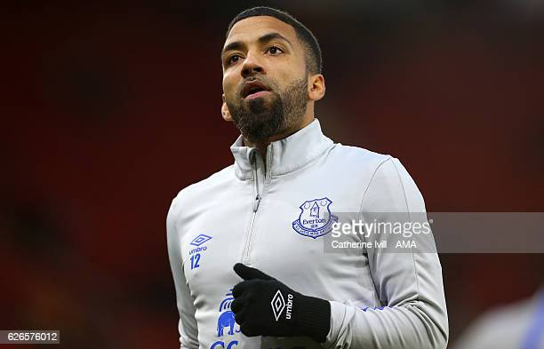 Aaron Lennon of Everton during the Premier League match between Southampton and Everton at St Mary's Stadium on November 27 2016 in Southampton...