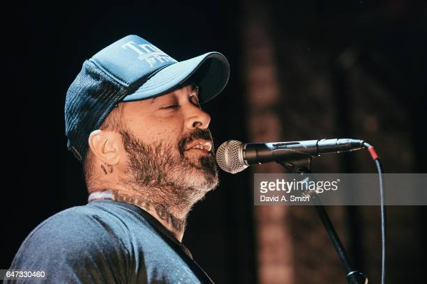 Aaron Lewis performs at Iron City on March 2 2017 in Birmingham Alabama
