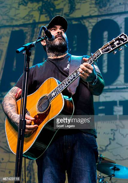 Aaron Lewis performs in concert at The Soundboard Motor City Casino on February 6 2014 in Detroit Michigan