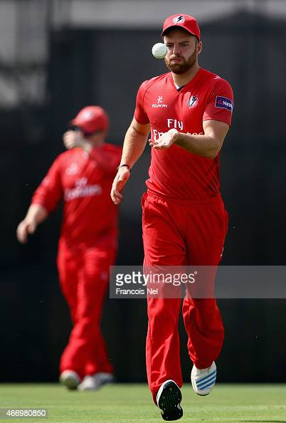Aaron Lilley of Lancashire in action during the Emirates Airline T20 Cup match between Lancashire and Yorkshire at the Sevens Stadium on March 20...