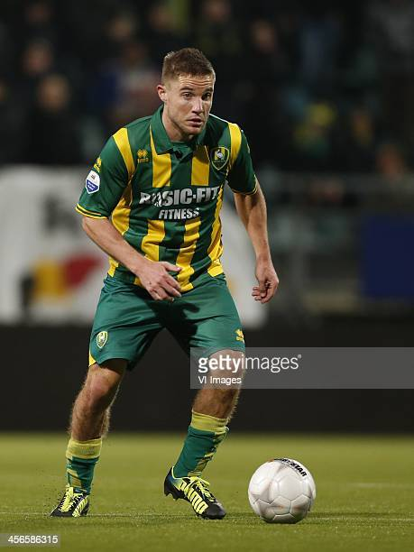 Aaron Meijers of ADO Den Haag during the Dutch Eredivisie match between ADO Den Haag and RKC Waalwijk on December 14 2013 at the Kyocera stadium in...