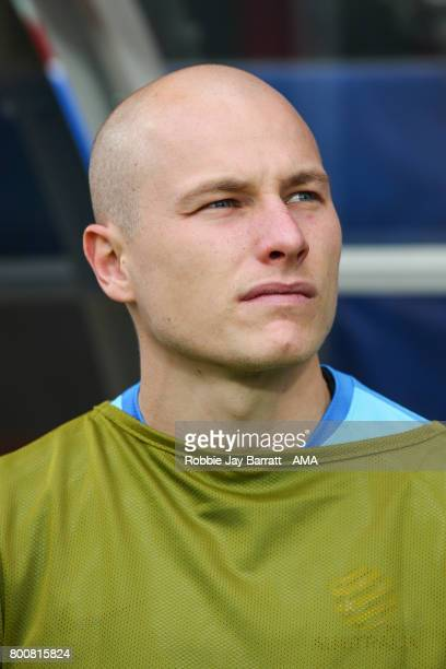 Aaron Mooy of Australia during the FIFA Confederations Cup Russia 2017 Group B match between Chile and Australia at Spartak Stadium on June 25 2017...