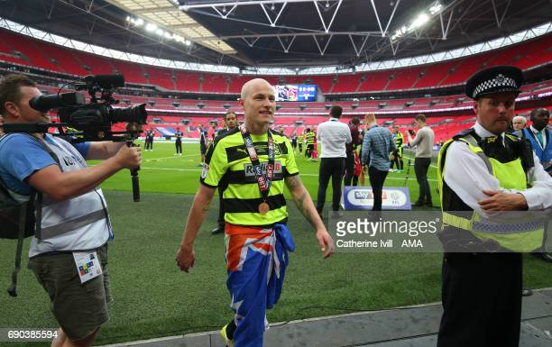 Aaron Mooy of Huddersfield Town after the Sky Bet Championship Play Off Final match between Reading and Huddersfield Town at Wembley Stadium on May...