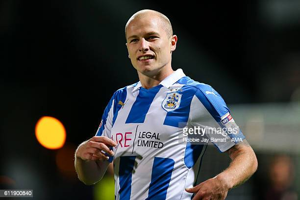 Aaron Mooy of Huddersfield Town during the Sky Bet Championship match between Huddersfield Town and Rotherham United at Galpharm Stadium on September...