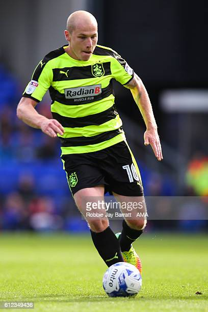 Aaron Mooy of Huddersfield Town during the Sky Bet Championship match between Ipswich Town and Huddersfield Town at Portman Road on October 1 2016 in...