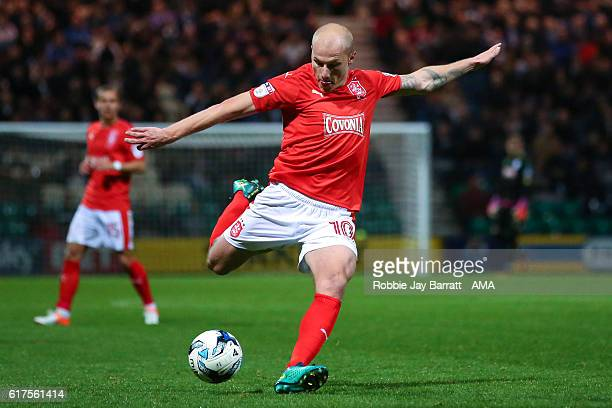 Aaron Mooy of Huddersfield Town during the Sky Bet Championship match between Preston North End and Huddersfield Town at Deepdale on October 19 2016...