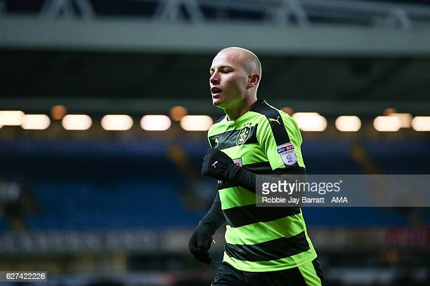 Aaron Mooy of Huddersfield Town during the Sky Bet Championship match between Blackburn Rovers and Huddersfield Town at Ewood Park on December 3 2016...