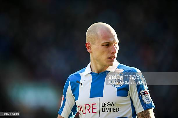 Aaron Mooy of Huddersfield Town during the Sky Bet Championship match between Huddersfield Town and Blackburn Rovers at Galpharm Stadium on December...
