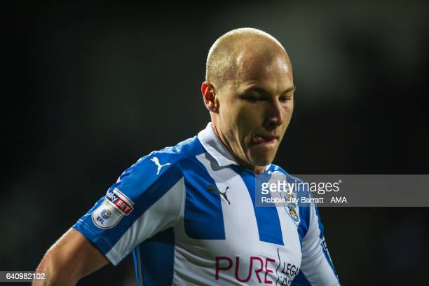 Aaron Mooy of Huddersfield Town during the Sky Bet Championship match between Huddersfield Town and Brighton Hove Albion at The John Smiths Stadium...