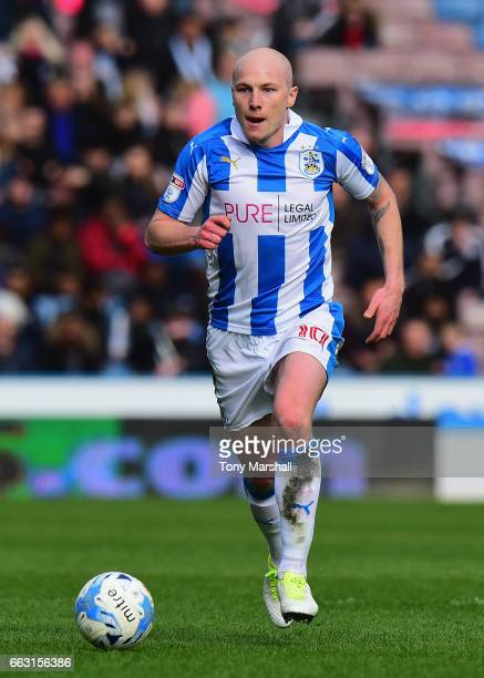 Aaron Mooy of Huddersfield Town during the Sky Bet Championship match between Huddersfield Town and Burton Albion at the John Smiths Stadium Stadium...