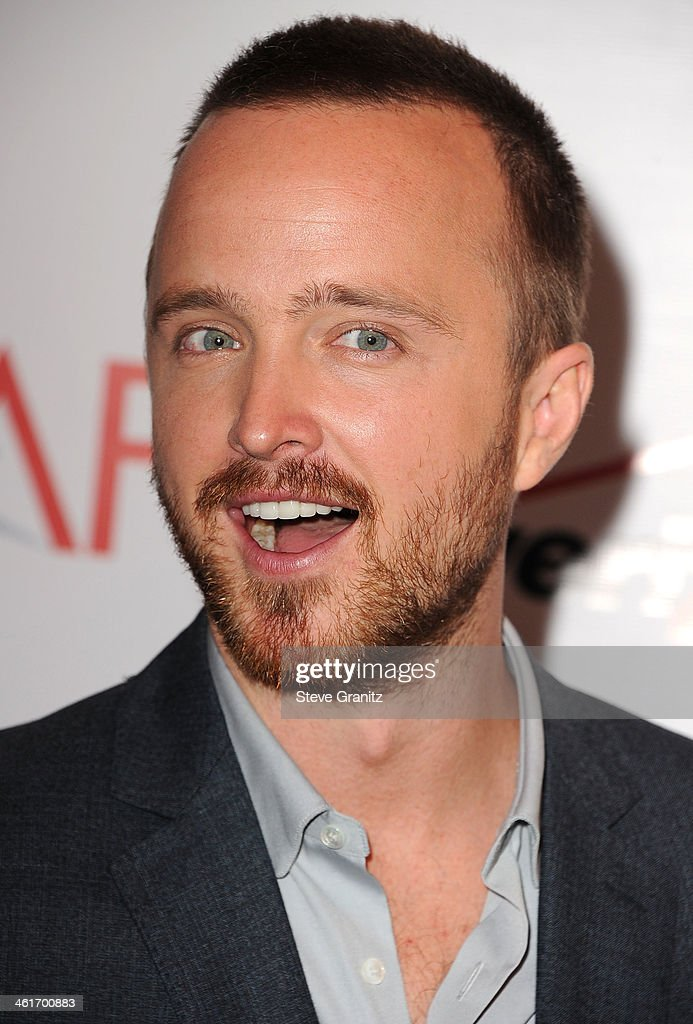 <a gi-track='captionPersonalityLinkClicked' href=/galleries/search?phrase=Aaron+Paul+-+Actor&family=editorial&specificpeople=693211 ng-click='$event.stopPropagation()'>Aaron Paul</a> arrives at the American Film Institute Awards Luncheon at Four Seasons Hotel Los Angeles at Beverly Hills on January 10, 2014 in Beverly Hills, California.