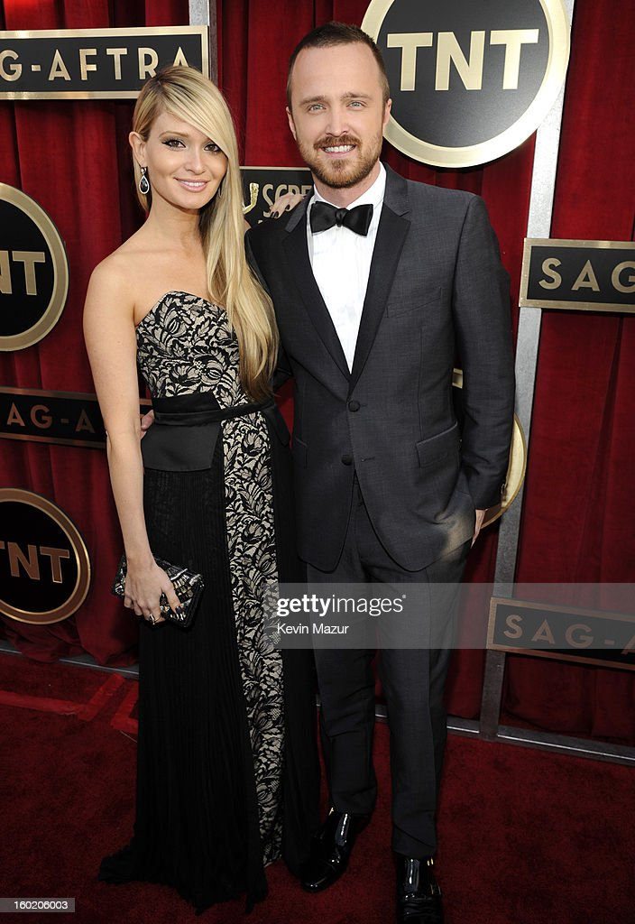 Aaron Paul attends the 19th Annual Screen Actors Guild Awards at The Shrine Auditorium on January 27, 2013 in Los Angeles, California. (Photo by Kevin Mazur/WireImage) 23116_016_0164.JPG