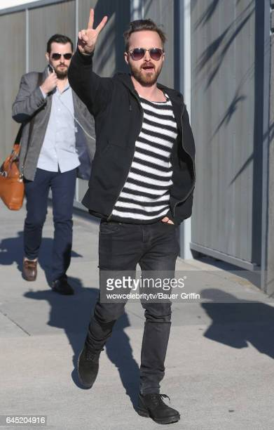 Aaron Paul is seen on February 24 2017 in Los Angeles California